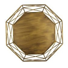 Geometric Tray Hollow Out Table Decorating Basket Cake Stands Gold