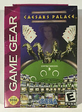 Caesars Palace Sega Game Gear Cart With Plastic Case Working G