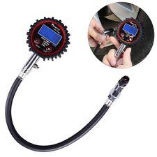 Neumático de coche LCD Digital Medidor de Presión de Aire Tester Medición Auto Moto van
