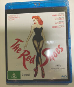 BLU RAY THE RED SHOES MOIRA SHEARER 1984 BRAND NEW And UNSEALED