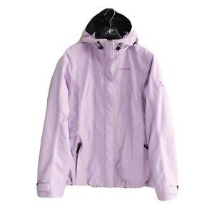 SCHOFFEL Venturi Women's Jacket Size XL Waterproof Windproof Hooded Purple