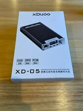 xDuoo XD-05 Portable Headphone Amplifier DAC Black & Free iOS OTG USB Adapter