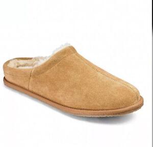 DSS* Mens Luxury Suede Mule Slippers Uk 12