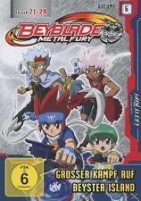 Beyblade Metal Fury Vol. 6 - Großer Kampf Beyster - Folgen 21-24 - DVD 2012 NEU