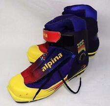 Alpina Italy NNN468 Racing Cross Country Skate Ski Mens Boots Size 8/9 (38-40)