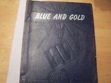 H.S. YEARBOOK - PINE GROVE 1947 -BLUE AND GOLD PINE GROVE, WEST VIRGINIA