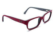 Ray Ban Criança Óculos Rb 1527 3575 Rosa Com Cinza Moldura Armação de  chifre 47    15 125 9d12c16e232f