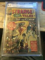 Strange Tales #120 CGC 6.5 OFF WHITE TO WHITE PAGES! ICEMAN APPEARANCE!