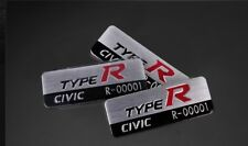 2012-2019 Civic Type R FK8 FK2 JDM Red Steering Wheel Emblem Serial Badge