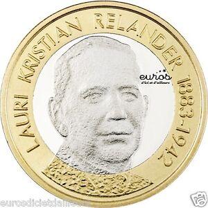 5 euros commémorative FINLANDE 2016 Président Lauri Kristian Relander