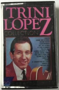 """Trini Lopez - """"Collection"""" - 20 Greatest Hits, MASTERS MC"""