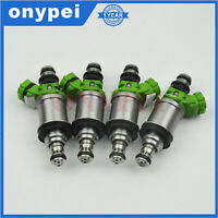 4 pcs Fuel Injector 23250-74140 For Toyota Camry Celica Solara 2.2L RAV4 2.0L L4