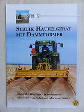 Struik Häufelgerät Dammformer 2WR 4WR 6WR - Prospekt Brochure  (0872