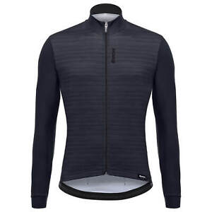 Santini Colore Long Sleeve Cycling Jersey in Black