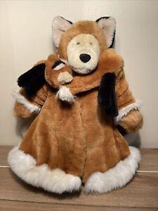 "Fabulous Fakes Fox North American Bear Co 16"" Vintage 1986 Plush Isenberg"