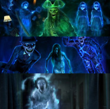 New Ghostly Apparitions 1 + 2 + 3 AtmosFX Projections Halloween Holiday 2020