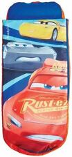 Worlds Apart Disney Cars 3 Junior ReadyBed, Kids Inflatable Sleeping Bag