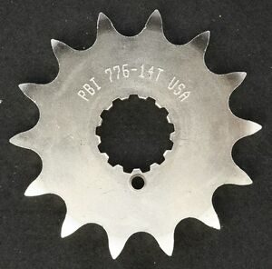 PBI - 776-14 -  Front Countershaft Sprocket, 14T - Made In USA