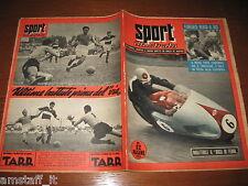 LO SPORT ILLUSTRATO 1954/37=DUKE GILERA MOTO GRAN PREMIO MONZA=NOVARA=
