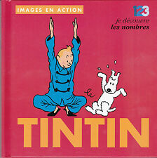 TINTIN  HERGE IMAGES EN ACTION N°4  LIVRE ENFANT