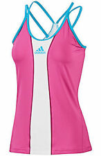 WOMEN'S ADIDAS CLIMACOOL BARRICADE TENNIS fitness RUNNING TANK TOP  M $45 pink