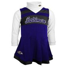 Baltimore Ravens CHEERLEADER nfl NFLPA Dress INFANT BABY NEWBORN Jersey (18M)