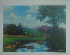 "1970's Parrish ""A Perfect Day"" Landscape"
