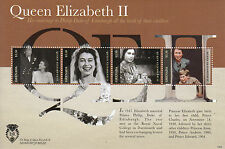 Grenada 2012 MNH Diamond Jubilee 4v Sheet Queen Elizabeth Marriage Philip Duke