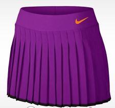 Nike Women Tennis Court Victory Tennis Skirt Skort - 728773 584 - Sz L - Purple