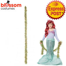Costumes & Accessories Fairytale Princess Mermaid Cosplay Wig Headdress Halloween Carnival Masquerade Dress Up Props Red Long Hair Large Assortment
