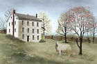 Art Print, Framed, Plaque By Billy Jacobs - Spring at White House Farm - BJ231