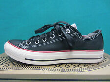 New Converse 14255F CT OX Unisex Size 7 Women Athletic Shoes Black