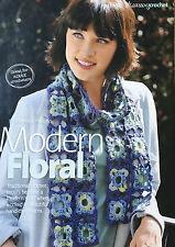 CROCHET PATTERN Femmes Fleur Motif Design Foulard Accessoire Motif