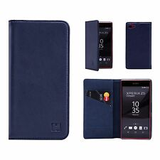 Sony Xperia Xa1 Ultra Leather Wallet Case Designed by 32nd Classic Real Leather
