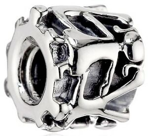 CHAMILIA 925 STERLING SILVER BOY AND GIRL BEAD GE-4 FAMILY TWINS CHILDREN CHARM