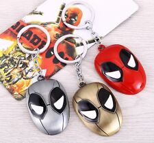 DEADPOOL MASK KEYCHAIN Colour Choices: Red, Gold And Silver
