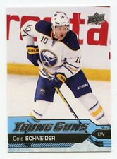 16/17 UPPER DECK YOUNG GUNS ROOKIE RC #517 COLE SCHNEIDER SABRES *44644
