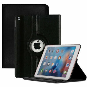 """iPad 360 Rotating Stand Case Cover Fits Apple iPad 6th Generation 2018 9.7"""" lot"""
