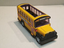 "Vintage Buddy L 1981 Metal School Bus 9.5"" x 3.5"" Made In Hong Kong"