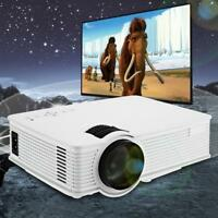 Multimedia 5000 Lumens HD WiFi bluetooth 3D 4K LED Home Cinema Theater Projector