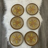 Hearthside Dogwood Hand Painted Stoneware Dinner Plates Set of 6 Made In Japan