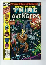 MARVEL TWO IN ONE # 75 (THE THING and THE AVENGERS, May 1981), FN/VF