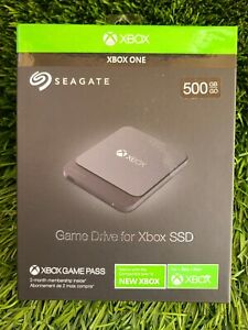 Seagate Gaming Game Drive SSD for Xbox One - External HD - 500GB - New Sealed!