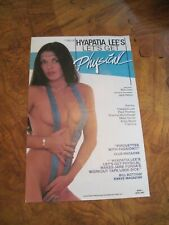 BODY GIRLS - Hyapatia Lee Movie poster AD 1983