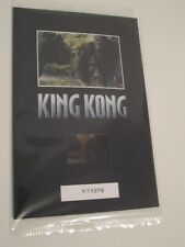 King Kong-Film Cell #1-Sealed-Numbered-Limited-Peter Jackson