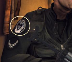 Déguisement Robe Halloween Fête Film Accessoire Patch : Stargate SG-1 Insigne