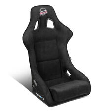 NRG INNOVATIONS FRP-302BK-PRISMA LARGE ALCANTARA RACING BUCKET SEAT+SIDE MOUNTS