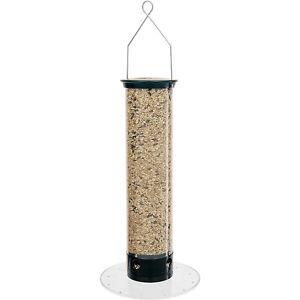 Droll Yankees 5 Pound Capacity Yankee Tipper Squirrel Proof Bird Feeder, Black
