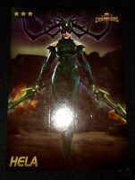 Marvel Contest Of Champions Dave And Busters Cards-HELA  Nonfoil
