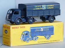 Dinky Toys Tracteur Panhard et semi SNCF